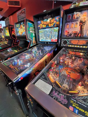 Skip the Line: Modern Pinball NYC Arcade & Museum Experience Ticket: Modern Pinball NYC Arcade & Museum Experience