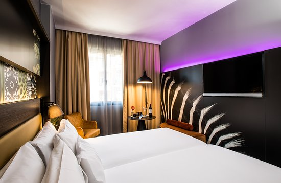 NYX Hotel Madrid: Guest room