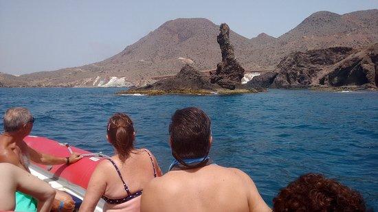 """Cabo de Gata, Spain: En esta ruta podemos apreciar """"El Arrecife del dedo"""""""