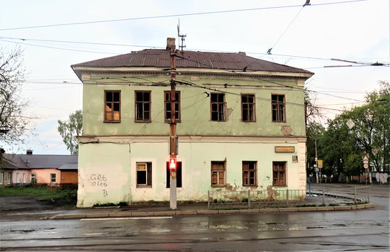 The House of Lobanov Where Writer Turgenev Stayed