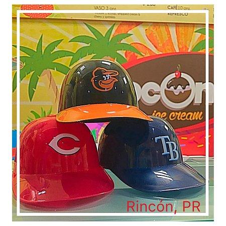 MLB helmets cup