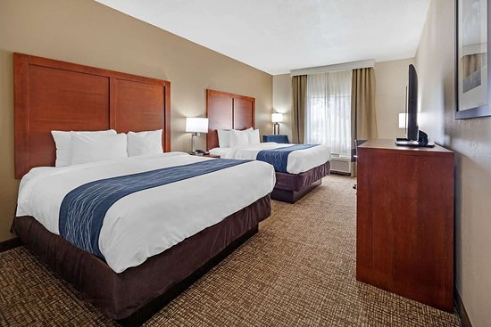 Comfort Inn Oklahoma City: Guest room with two beds