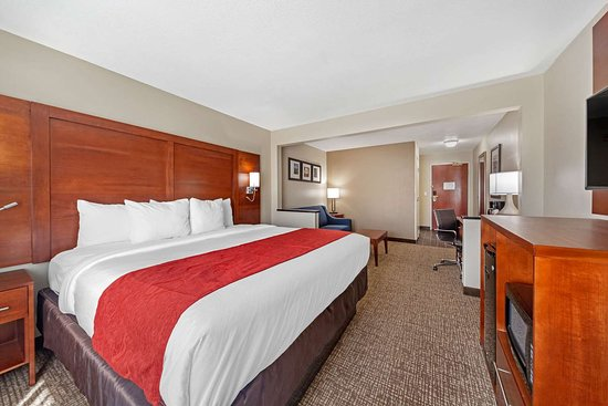 Comfort Inn Oklahoma City: Well-equipped guest room