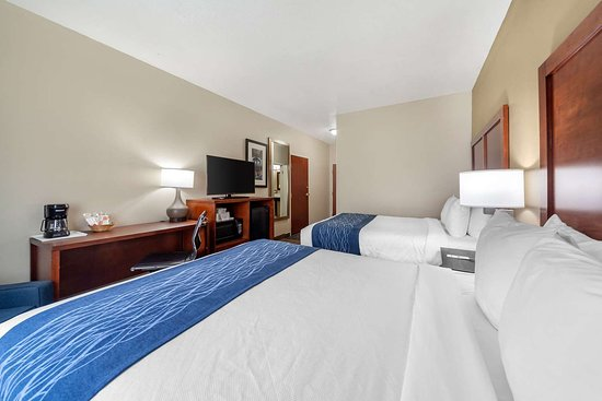 Comfort Inn Oklahoma City: Guest room with queen bed(s)