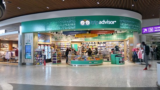 Air Canada: Tripadvisor Shop at the airport
