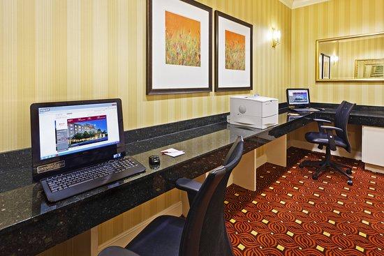 Austin Marriott South: Business center