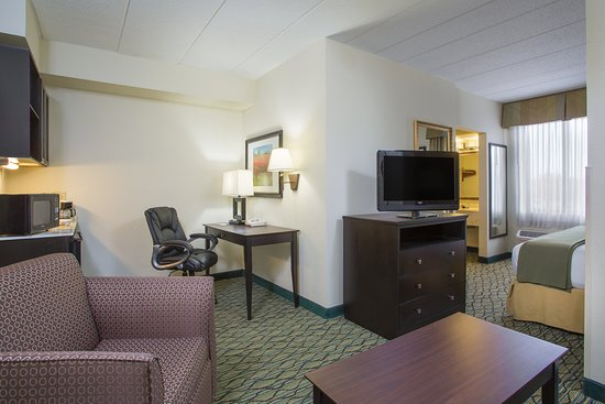 Holiday Inn Express & Suites Columbus Airport: Suite