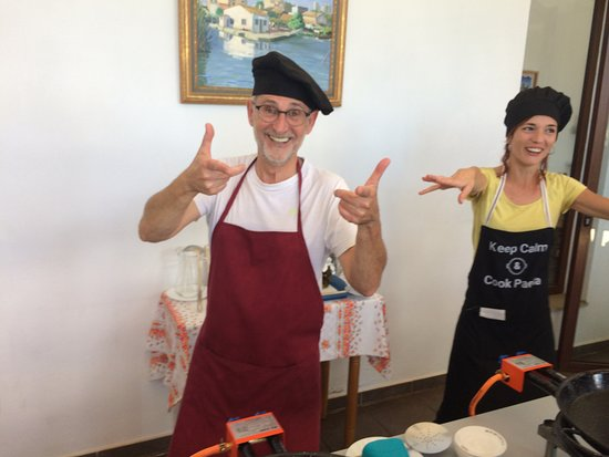 Authentic Valencian Paella Cooking Class: Rafa & Maria, legends
