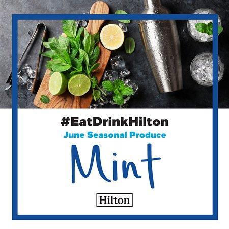 Eat Drink Hilton June - Mint creations