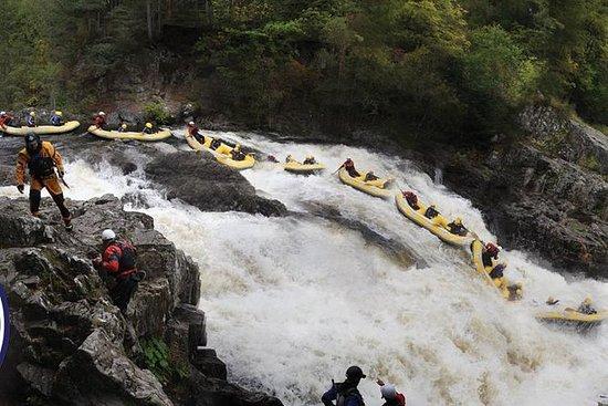 White Water Rafting Halve dagtrip op ...