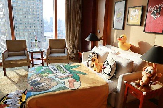 Pudong Shangri-La, East Shanghai: Family room
