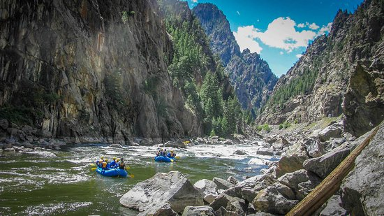 Idaho Springs, CO : rafting adventures on Colorado's best rivers