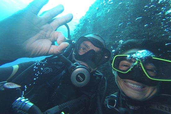 Doppeltauchen im Meeresschutzgebiet...