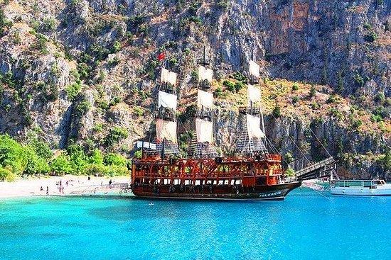 Antalya kemer pirate boat tour