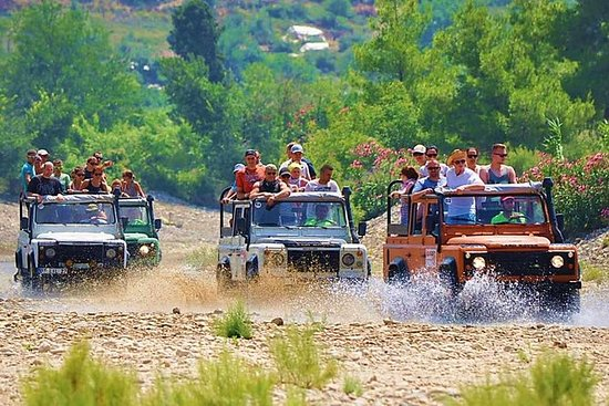 Alanya Jeep Safari med Dim River...