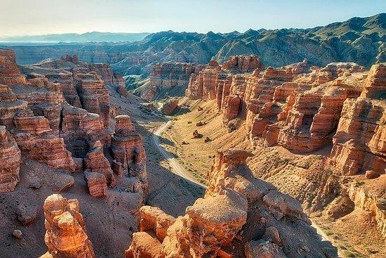 Vantaggi in Charyn Canyon.