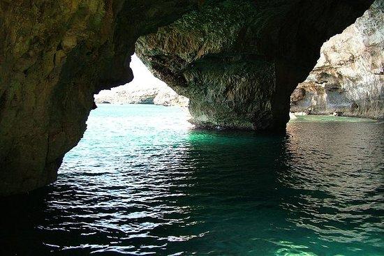 Adriatische en Ionische tour-grotten