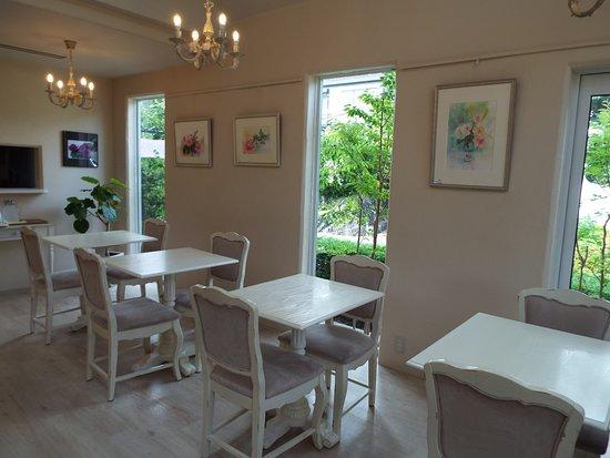 Izukogen Rose Terrace: ローズカフェもとっても素敵でした。