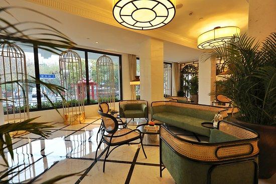 Jinjiang Metropolo Shanghai Xintiandi Hotel: 大堂休息区