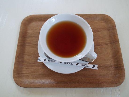 Izukogen Rose Terrace: ローズカフェで頂いた紅茶。