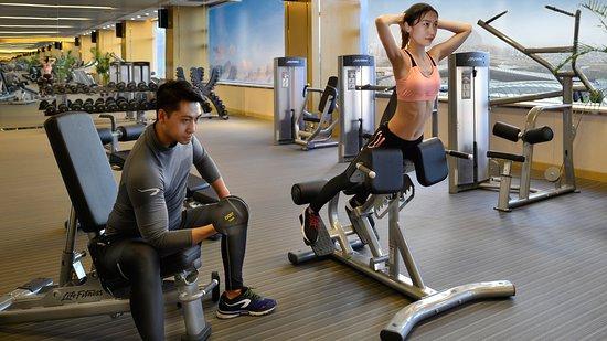 Crowne Plaza Dalian Sports Center: Health club