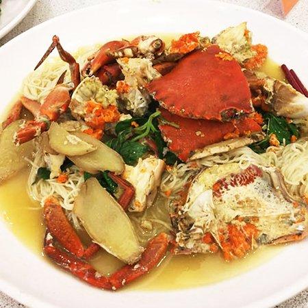 Bi Tou A Zhu Seafood Restaurant: love this crab