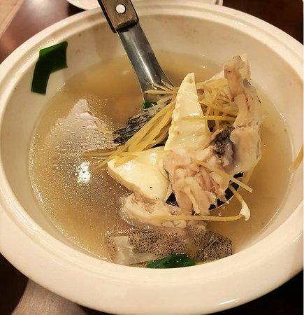Bi Tou A Zhu Seafood Restaurant: fish soup