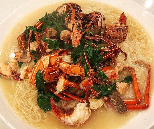 Bi Tou A Zhu Seafood Restaurant: I just love lobster