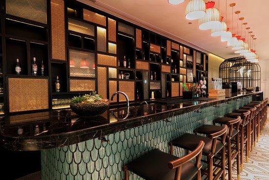Jinjiang Metropolo Shanghai Xintiandi Hotel: 吧台