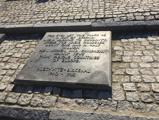 Auschwitz-Birkenau Camp Full-Day Guided Tour from Krakow: The memorial to the victims in Birkenau.