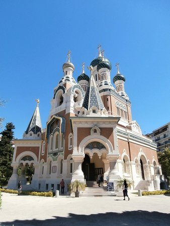 Nice City Tour and Old town Half-Day from Nice Small-Group: Russian Cathedral
