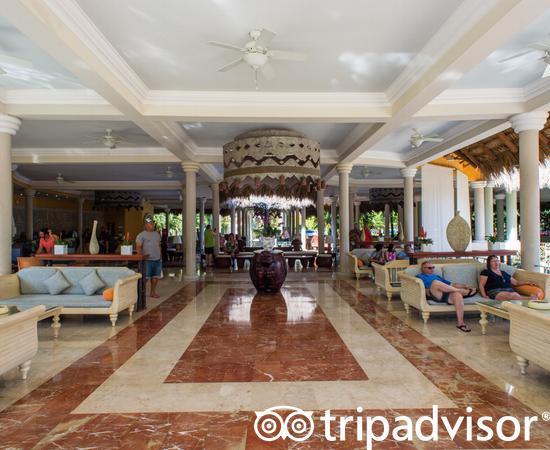 Lobby at the Iberostar Costa Dorada