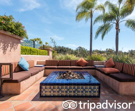 Fire Pits at the Rancho Valencia Resort & Spa