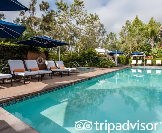 The Spa Pool at the Rancho Valencia Resort & Spa