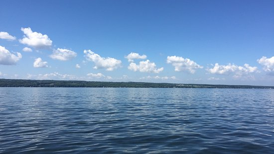 School's Out Charters: Another beautiful day on Cayuga Lake.