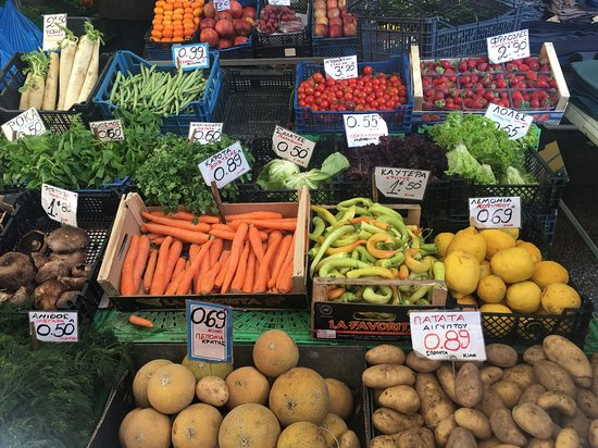 Athens Market Shopping & Cooking Class: Athens Market