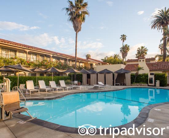 The Front Pool at the Hotel Milo Santa Barbara