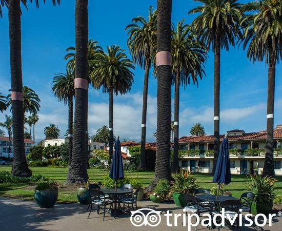 Courtyard at the Hotel Milo Santa Barbara