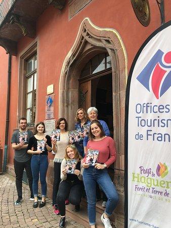 Office de Tourisme du Pays de Haguenau: Notre équipe chaleureuse vous attend !