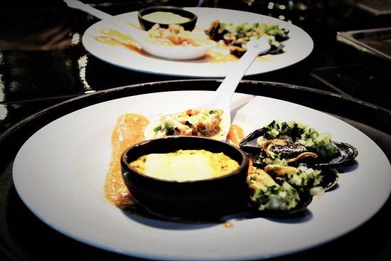 Isla Chiloe, Chile: Los mariscos y pescados más frescos y sabrosos extraídos de las riveras de las 40 islas que bordean el Archipiélago de Chiloé.... ALIWEN... HOTEL RESTAURANT... El sabor de la naturaleza...