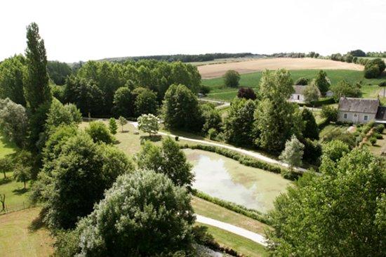 Le-Petit-Pressigny, Francja: Vue aérienne