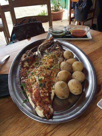 Restaurante La Ola: Pescado típico de la zona