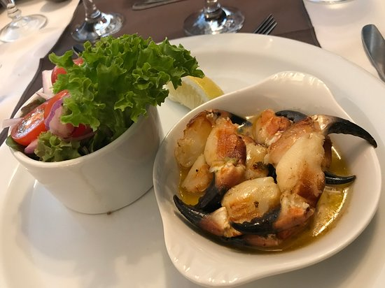 Leenane Hotel Restaurant: crab claws