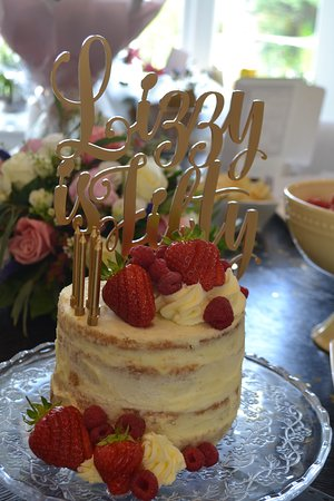 Prime Semi Naked Cake Made By The Kitchen Croxley Picture Of The Funny Birthday Cards Online Elaedamsfinfo