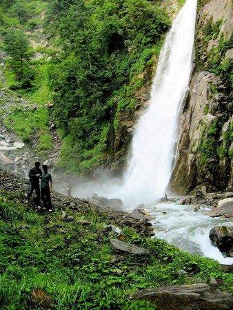 Azad Kashmir, Pakistan: Cham Waterfall