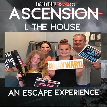 Hayward, WI: Returning players love this new house.. Do you have what it takes to escape? tacticalescape101.com #tacticalescape101 #te101 #escaperoom #maresfreedom