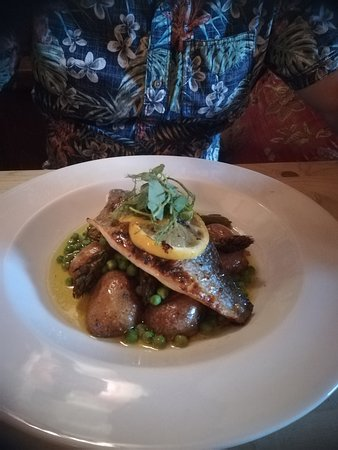 The Greyhound Inn: Black bream