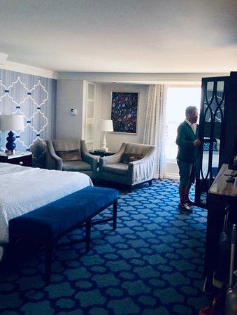 Bellagio standard room.