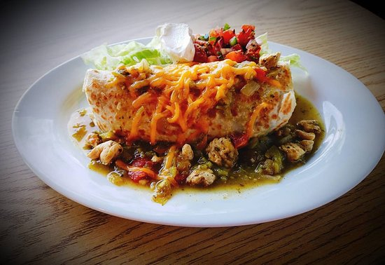 No. 3 Grill: Smothered Burrito