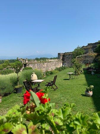 Pozzolengo, Italie : mura medievali